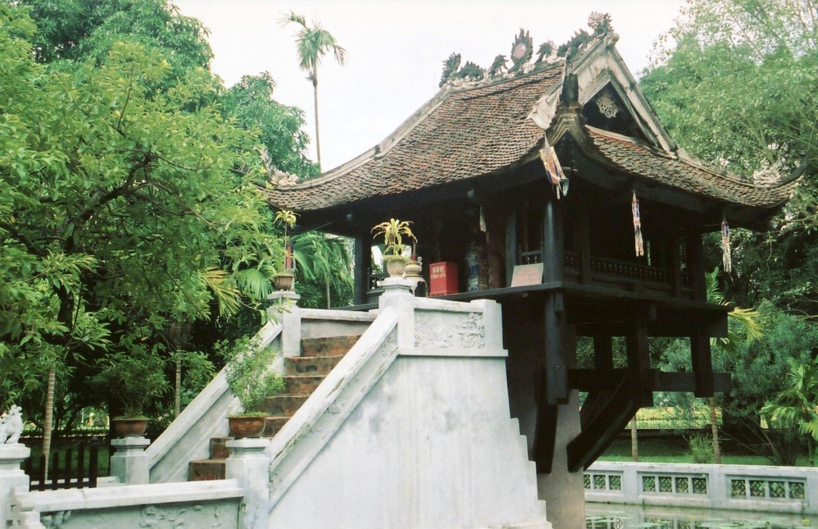 Kết quả hình ảnh cho chùa một cột
