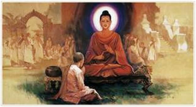 Đức Phật hướng dẫn di mẫu Mahà Pajàpati Gotami trên con đường đi đến sự giải thoát
